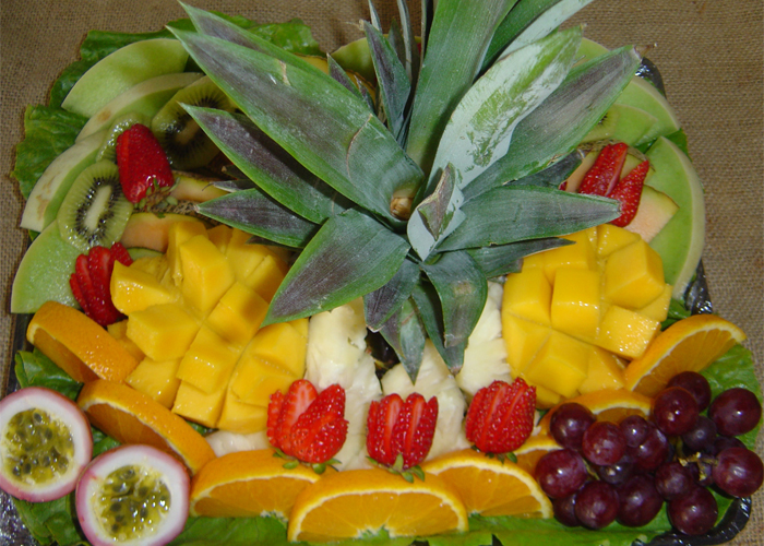 Tropical Fruit Platter For A Beach Wedding: Hamilton Island Accomodation, Airlie Beach